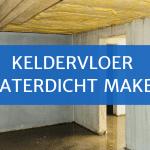 Keldervloer waterdicht maken