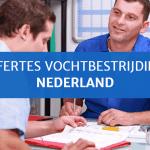 Offertes vochtbestrijding Nederland