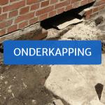 Behandeling opstijgend vocht: muren onderkappen