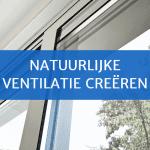 Natuurlijke ventilatie in huis creëren